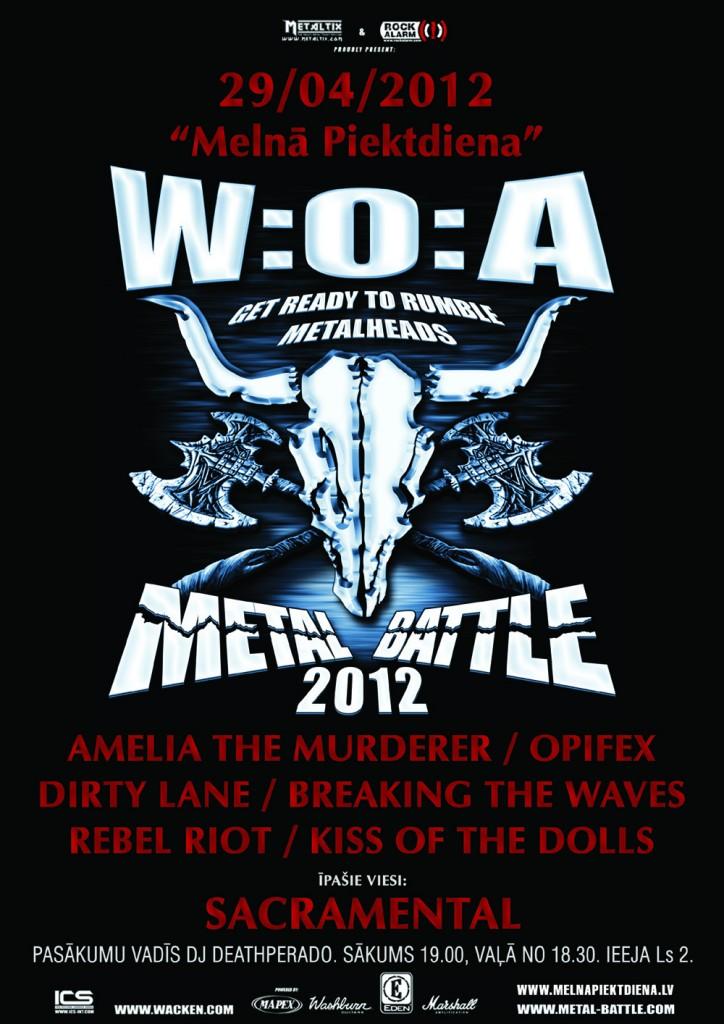 Wacken Metal Battle 2012