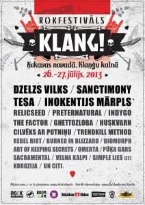 KLANG poster